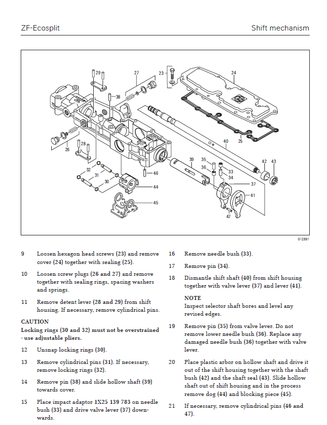 zf-wg211 transmission operations and diagnostics zf-wg211 transmission  repair